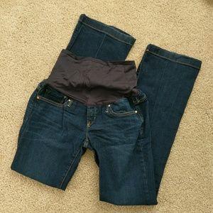 Gap maternity jeans 2 Long/26